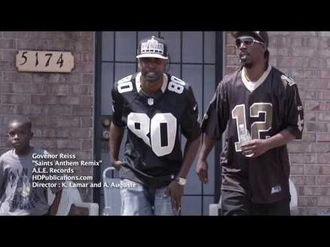 "Govenor Reiss    ""Saints Anthem Remix""  Official Music Video"