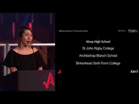 Most Inspirational 16-18 Education Provider - Educate Awards 2017