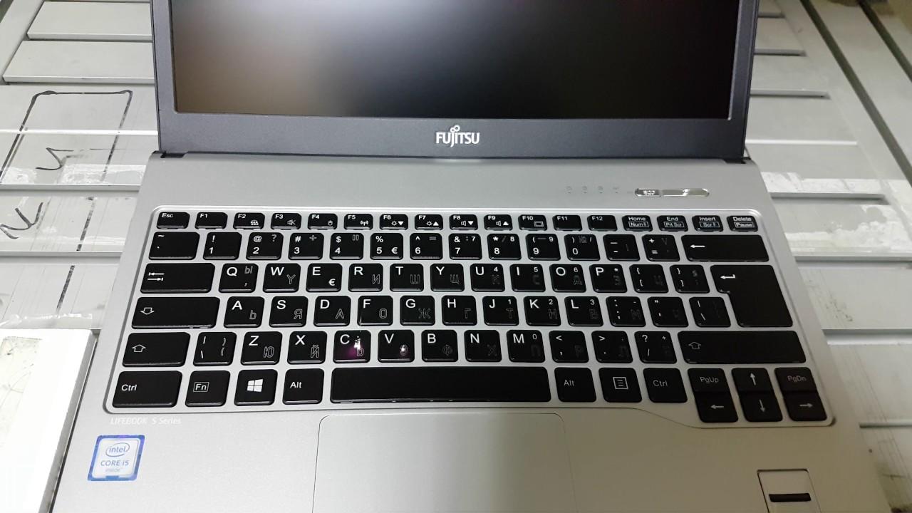 Laser Engraving On Fujitsu S936 Keyboard Youtube
