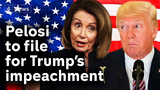 A Christmas impeachment? Pelosi to file charges against Trump