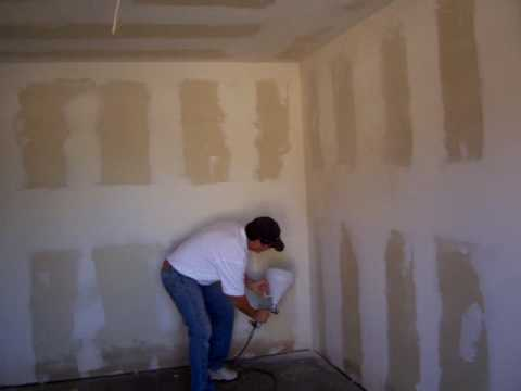 Sheetrock Texture with The Owner Builder
