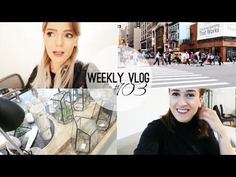 WOHNUNGSPROBLEME, VIDEOWOCHE & YOGA | Weekly Vlog #103