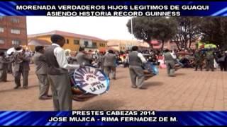 Records Guinness Morenada Hijos Legitimos De Guaqui 1