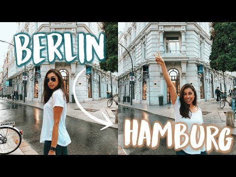 Living Out of a Van In Berlin & Hamburg, Germany!! 😱  | Jeanine Amapola