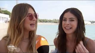 Lena & Stefanie Giesinger beim 70. Filmfestival in Cannes - Leute Heute - 26.05.17
