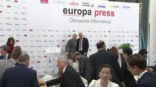 Desayuno Informativo Europa Press con el ministro británico para el Brexit, Stephen Barclay
