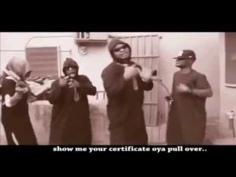Hilarious Video: Anonymous - Buhari Pull Over #BuhariPullOver (Kcee's Cover)