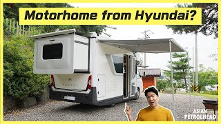 The First RV, Motorhome or Camping car from Hyundai? It starts around $41K USD. What do you think?