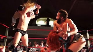 Download [Free Match] Jordynne Grace & Jonathan Gresham vs. Veda Scott & Ryan Galeone (Intergender Mixed Tag) Mp3 and Videos