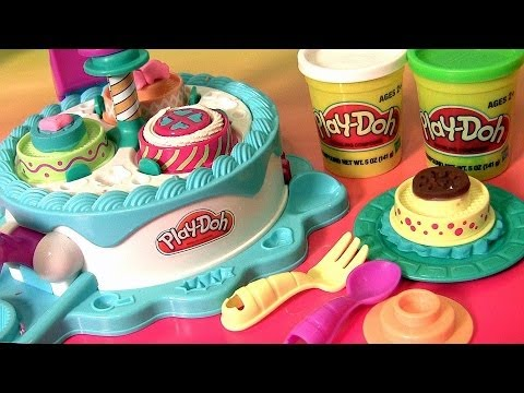 Play Doh Cake Makin Station Playset By Sweet Shoppe