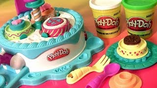 Play Doh Cake Makin