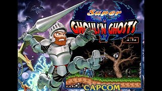 Capcom Classics Collection Vol. 1 (PlayStation 2) - Super Ghouls 'N Ghosts Game Play