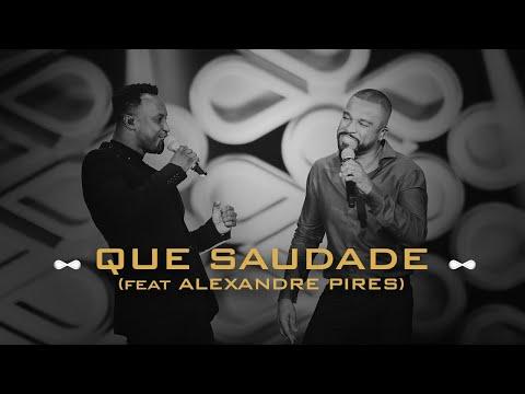 Смотреть клип Thiaguinho E Alexandre Pires - Que Saudade