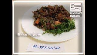 ПП салат с тунцом - ПП РЕЦЕПТЫ: pp-prozozh.ru