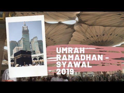 Umrah syawal 2019 bersama Arrayyan Almubarak kurang lebih 150 Jamaah yang berangkat menggunakan Oman.