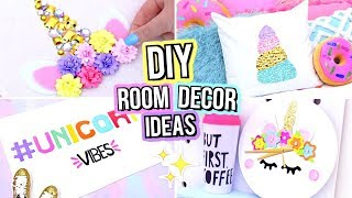 DIY ROOM DECOR FOR TEENAGERS!