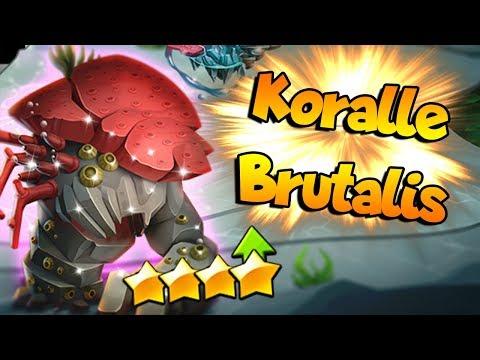INCREIBLE KORALLE BRUTALIS AL 120 - Monster Legends Review