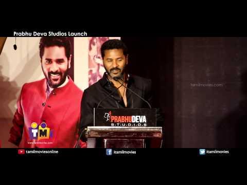 Prabhu Deva about Prabhu Deva Studios