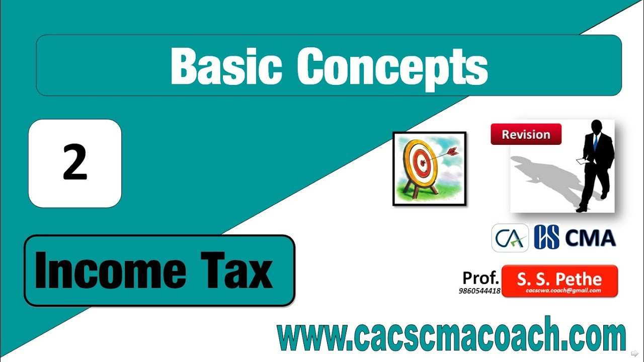 indian income tax basic concepts Basic concept of income tax in india individual has to pay tax of relevant previous year in assessment year before 31st july (in 4 months) if he pays after this date than he has to pay penalty for late payment.