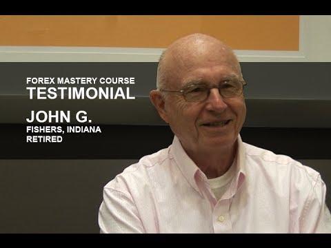 Forex Mastery Course Testimonial | John G.