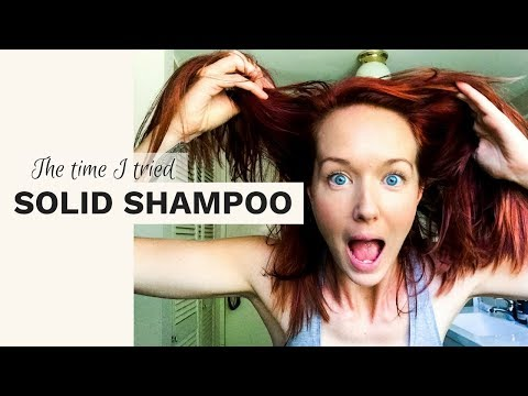 LUSH Solid Shampoo & Conditioner Review - Honey, I Washed My Hair Bar And Jungle Solid Conditioner