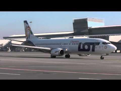41 minutes of planespotting at Warsaw Chopin Airport (1080p)