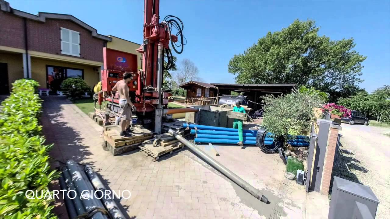 Come realizzare un pozzo per irrigare il giardino