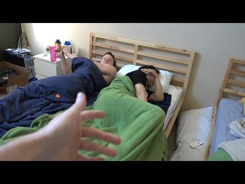2 GUYS 1 BED PRANK @ OPTIC HOUSE