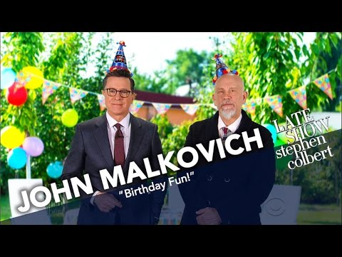 Hire John Malkovich For Your Child's Next Birthday Party!