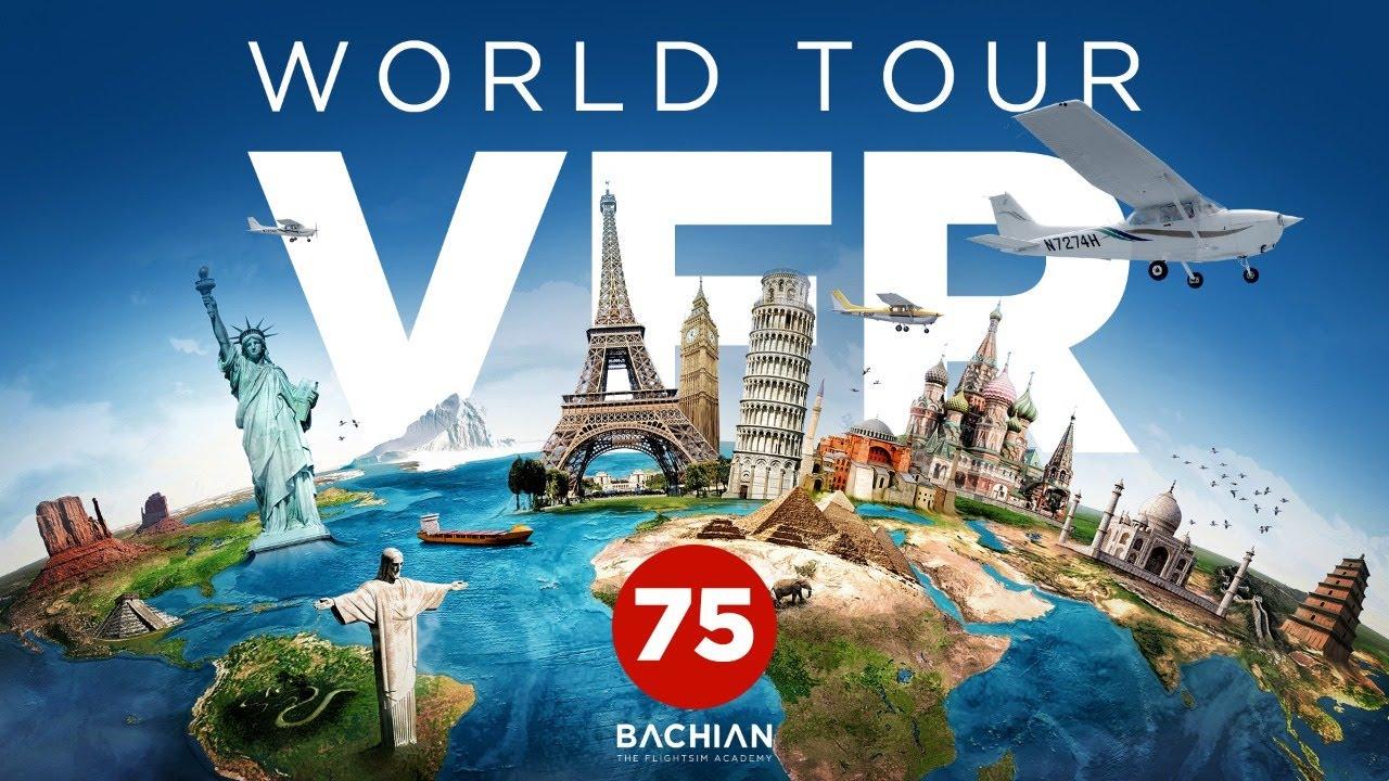 Prepar3D - VFR World Tour / Nova Zelândia - Ep. 75