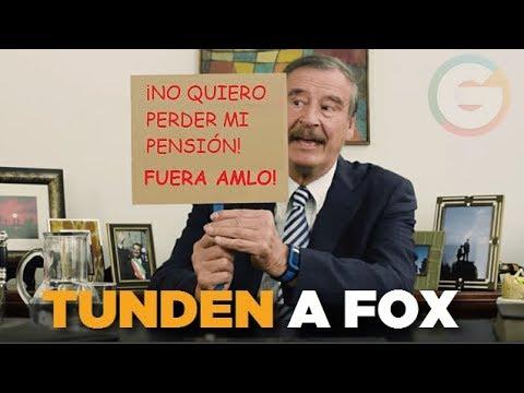 Vicente Fox pide  a mexicanos en EU no votar por AMLO y lo tunden en redes sociales #Elecciones2018