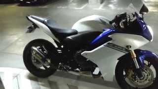 Honda CBR 600F 2012 Akrapovic exhoust sound