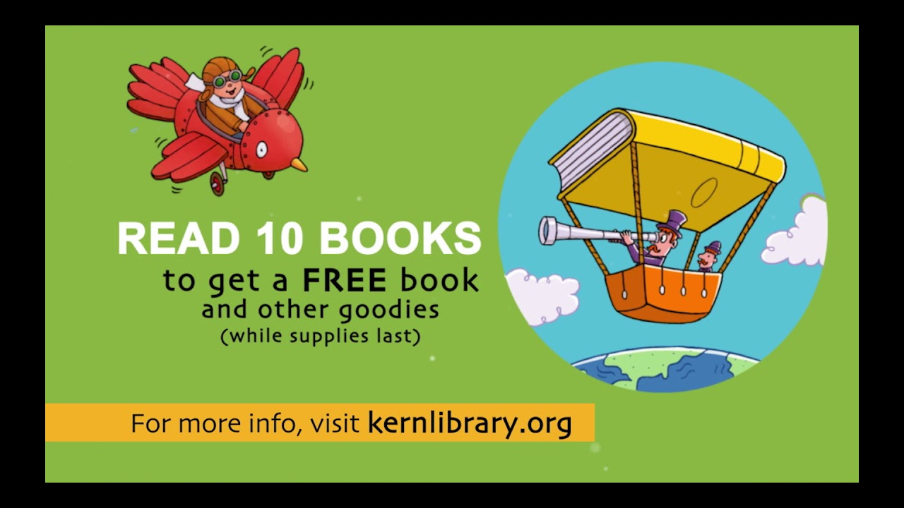 Hundreds of FREE Events Everyday! – Kern County Library