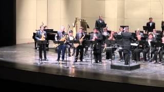 David Maslanka Concerto for Saxophone Quartet and Wind Ensemble Mvt 3 - Barkada Quartet
