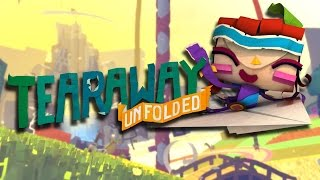 Tearaway Unfolded Review for the PlayStation 4