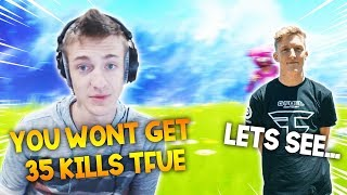 Guy Bets $10 Each Kill If Tfue Breaks His Kill Record... Then This Happens!