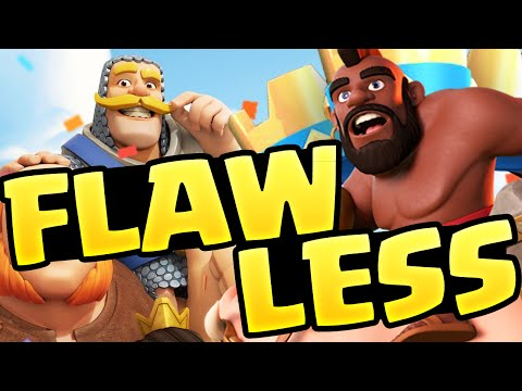 Clash Royale Strategy - FLAWLESS! - When Everything Goes Right in Royale