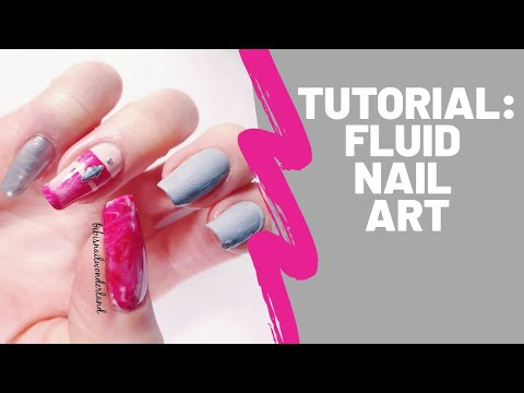 Tutorial: fluid nail art thumbnail
