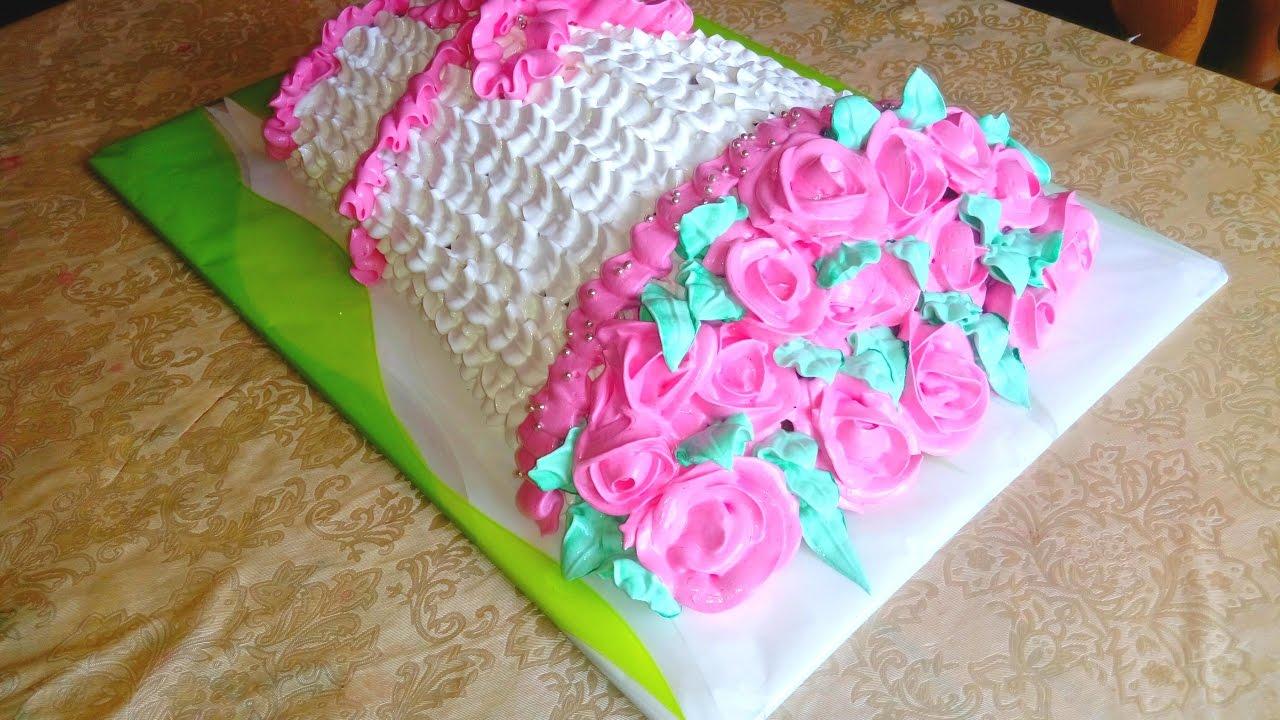Как сделать торт букет цветов фото 235