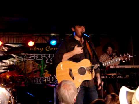 Chris Young - The Man I Want To Be LIVE Dusty Armadillo Rootstown, Ohio