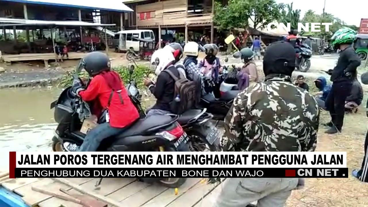 Download KEC PAMMANA KAB WAJO JALAN POROS TERGENANG AIR MENGHAMBAT PENGGUNA JALAN