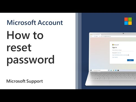 How To Reset Your Password For Windows, Xbox, Outlook, Hotmail, Skype And Live! | Microsoft