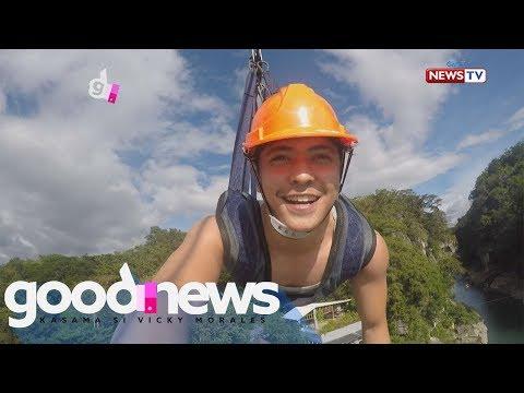 Good News: Mga pasyalan sa Nueva Ecija, binisita ni Jay Arcilla