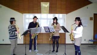 joy! Saxophone Quartet  嵐メドレー