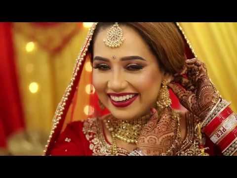 The Most Beautiful Wedding Of Harjinder & Pervinder