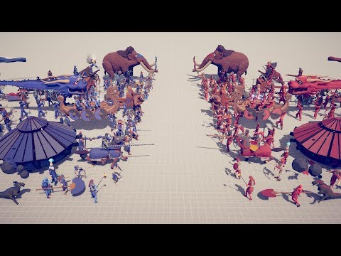 EVERY FACTION Vs EVERY FACTION - Totally Accurate Battle Simulator TABS