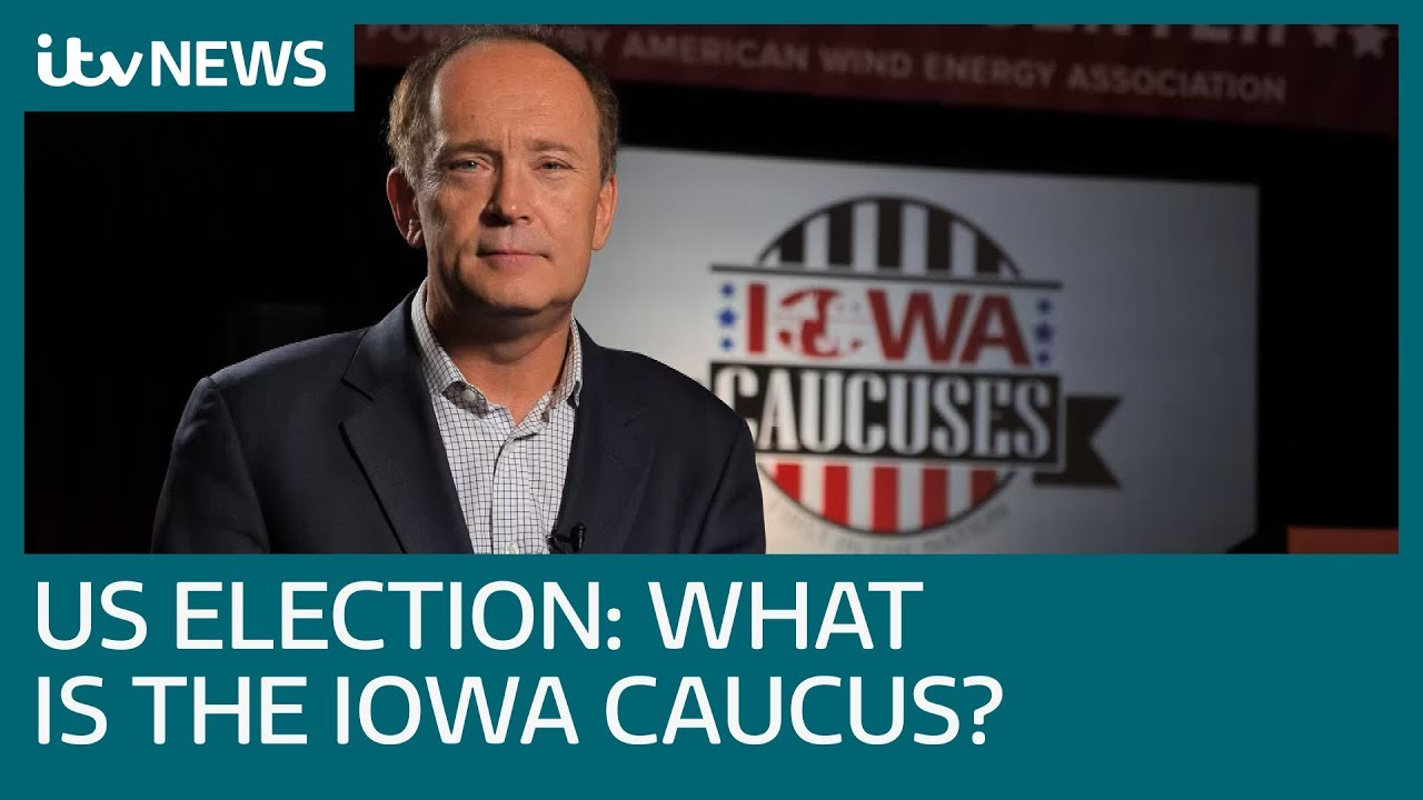 US presidential election 2020: The Iowa caucus, explained | ITV News