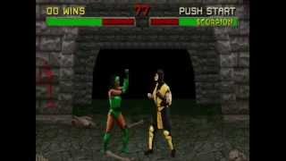 Mortal Kombat II (Arcade) - Play as Jade!