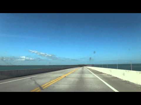20141029 フロリダキーズ Florida Keys 9:U S Route 1:Oversea Hwy:キーラーゴ Key Largo → キーウェスト Key West