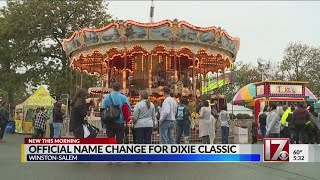 It's official: NC's Dixie Classic Fair has a new name